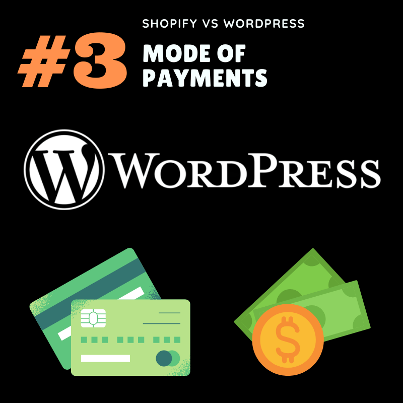 Mode of payment - WordPress